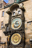 Astronomical clock, Old Town Square, Prague, Czech Republi — 图库照片