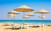 Beach in Famagusta, Cyprus — Stock Photo