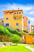 Typical house in Tarragona town, Spain — Stock Photo