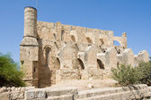 Mustafa Pasha Mosque in north Cyprus occupied by Turks, Famagusta — Stock Photo