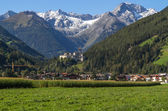 "Mountain village of ""Sand in Taufers"" in South Tyrol, Italy — Stock Photo"