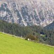 Mountain scenery in summer in Northern Italy — Stock Photo