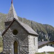 Small mountain chapel in Northern Italy, Europe — Stock Photo