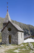 Small mountain chapel in Northern Italy, Europe — Foto de Stock