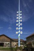 традиционный баварский верзила, германия, на ферме — Стоковое фото