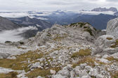 Autumn hiking in the Austrian Alps, Europe — Photo
