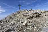 """""""Mitterhorn"""" summit in the Austrian Alps, Europe — Stock Photo"""