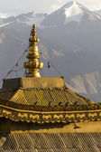 Roof of a small old stupa in Leh, Ladakh, India — Stock Photo