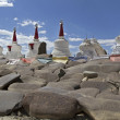Stock Photo: Gompas in Ladakh, India