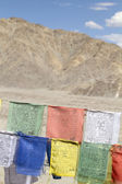 Tibetan prayer flags — 图库照片
