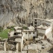 Typical residential homes in Ladakh, India - Stock Photo