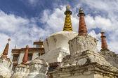 Old stupas at Lamayuru monastery in Ladakh, India — Stock Photo