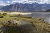 Paysage de montagne au ladakh, inde — Photo