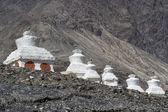 Historic Stupas (Gompas) in Ladakh, India — Stock Photo