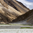 Scenic mountain landscape in Ladakh, India — Stock Photo #15611277