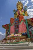 Large Buddha Statue in Ladakh, India — Stock Photo