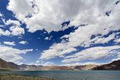 Lake pangong, Ladakh, India — Stock Photo