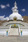 Shanti Stupa near Leh, Ladakh, India — Stock Photo