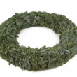 Advent wreath without candles and decoration — Stock Photo