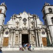 Stock Photo: HavanCathedral, Cuba