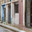 Stock Photo: Shabby street in Havana, Cuba