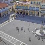 Plaza Vieja in Havana, Cuba — Stock Photo #18938365