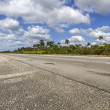 Stock Photo: Highway on island of Cuba