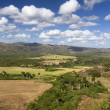 Typical farmland on the island of Cuba — Stock Photo