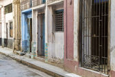 Shabby street in Havana, Cuba — Stock Photo