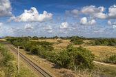 Järnvägen spår på ön Kuba — Stockfoto