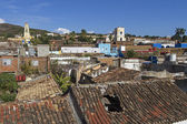 The small town of Trinidad on the island of Cuba — Stock Photo