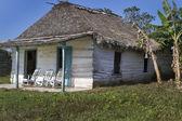 小住宅对古巴与摇椅 — 图库照片