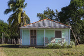 Small residential home on Cuba — Stock Photo