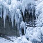 Partnachklamm gorge in Bavaria, Germany, in winter — Stock Photo #21984421