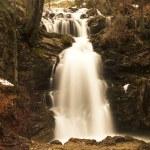Waterfall in evening light — Stock Photo #22053019