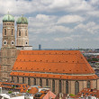 Church of Our Lady (Frauenkirche) in Munich, Germany — Stock Photo