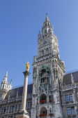 New Town Hall in Munich, Bavaria, Germany — Stock Photo