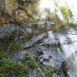 Small waterfall in the bavarian alps, Germany — Stock Photo #29675755