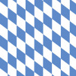 Typical Bavarian diamond pattern as background — Stock Photo
