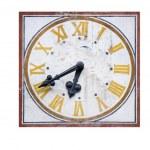 velho relógio de igreja do norte da Itália — Foto Stock