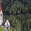 Stock Photo: Typical church in South Tyrol, Italy
