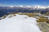Snow covered mountains, Italy — Stock Photo