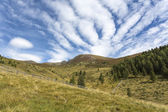 Hiking in the North Italian mountains — Stockfoto