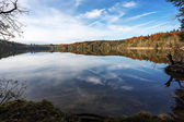 Autumn on a lake in Bavaria, Germany — Stock Photo