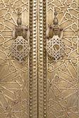 Oriental door detail in Morocco, North Africa — Stock Photo
