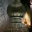 Stock Photo: Filigree oriental lamp, seen in Morocco