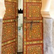 Stock Photo: Old oriental door, Morocco