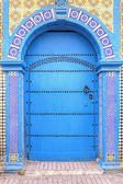 Old and weathered door, Morocco — Stock Photo