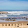 The atlantic ocean at Essaouira, Morocco — Stock Photo