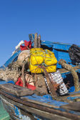 Fishing boat detail, Essaouira, Morocco — Photo